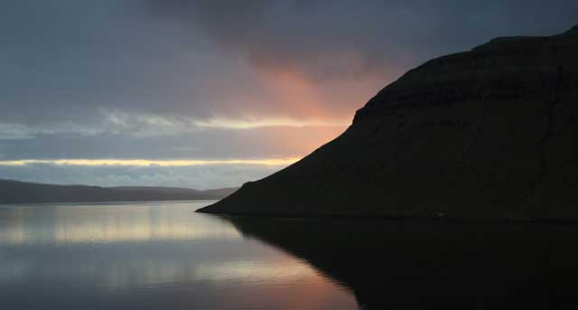 Faroe Is Sunset