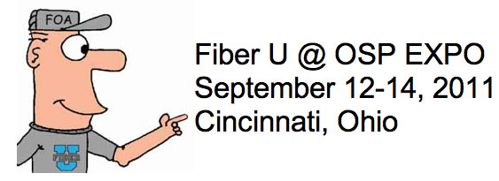 Fiber U at OSP EXPO