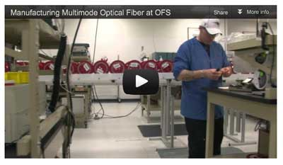 Manufacturing fiber at OFS