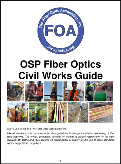 FOA OSP Civil Works Guide