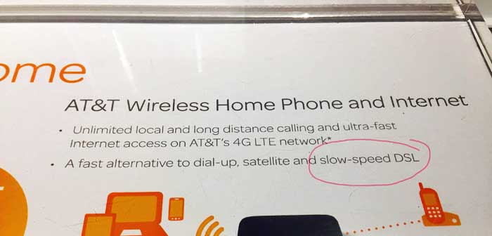 What AT&T thinks of DSL